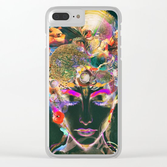 Mahalaya Clear iPhone Case