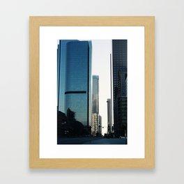 LA Street View III Framed Art Print