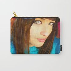 Colourful Vibes Carry-All Pouch