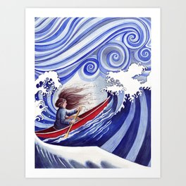 The Winds of Change Art Print