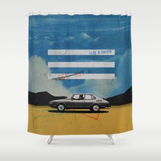 W. Rong | Collage Shower Curtain