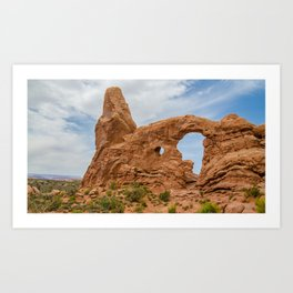 Turret Arch - Arches National Park - Utah Art Print