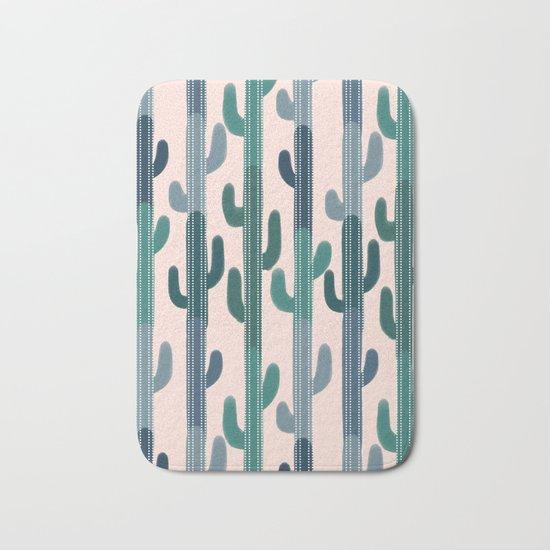 Cactus Lines Bath Mat