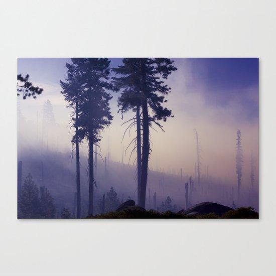 PURPLE FOG #2 Canvas Print