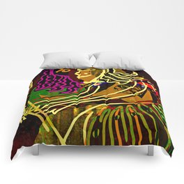 The Piano Girl / Memories / Follies Collection Comforters