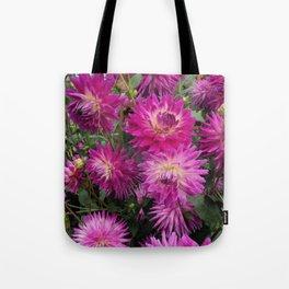 Pretty in Pink Dahlia 2 Tote Bag