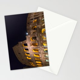 Colosseum by night Stationery Cards