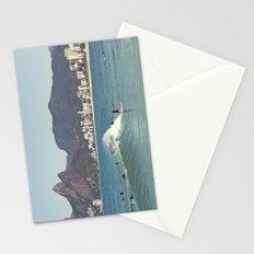 Surfing on Ipanema Beach Stationery Cards