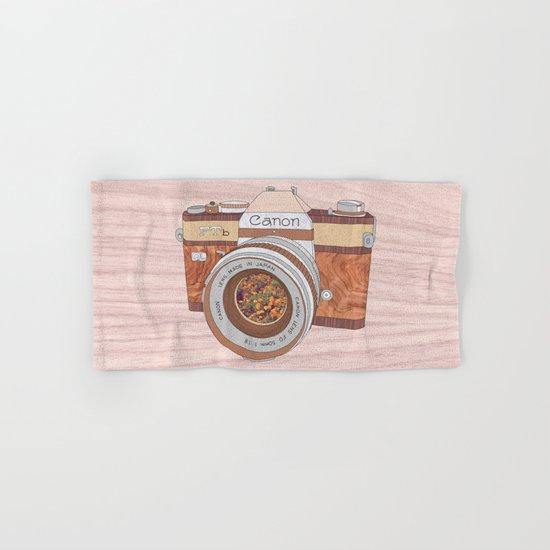 Wood Canon Hand & Bath Towel