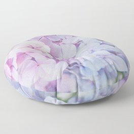 Bloomin' Fabulous Hydrangeas Floor Pillow
