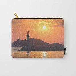 Lighthouse Evening Art Carry-All Pouch