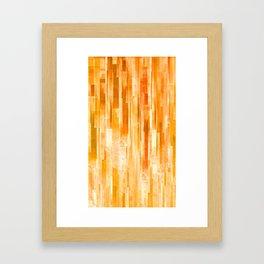 JPG lines Framed Art Print