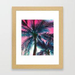 Of the Trees - RG_Glitch Series Framed Art Print