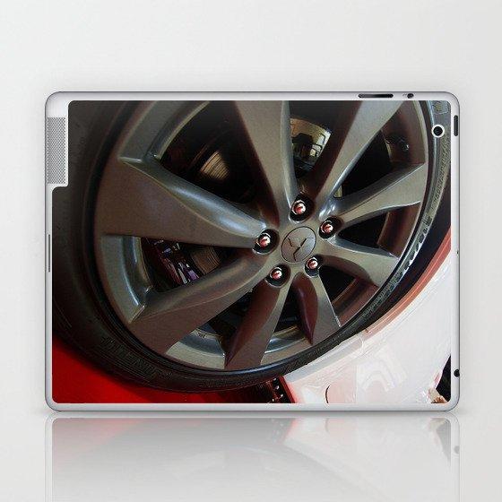 Mitsubishi Lancer Sportback Ralliart Wheel Laptop & iPad Skin