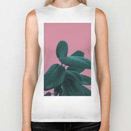 Ficus Elastica #11 #WildRose #decor #art #society6 Biker Tank