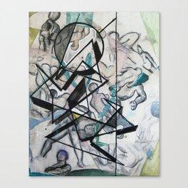 Bio Masses R Canvas Print