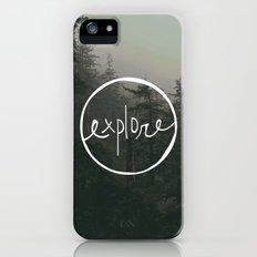 Explore Oregon Forest iPhone (5, 5s) Slim Case