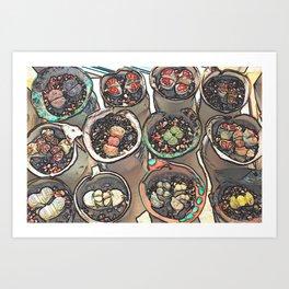 The Genus Lithops Art Print