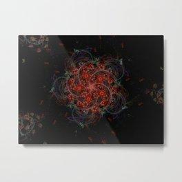 Flower Work Metal Print