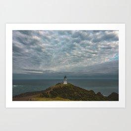 Cape Reinga Lighthouse Art Print
