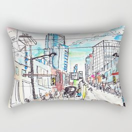 My City of Toronto Rectangular Pillow