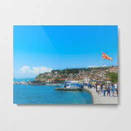 Ohrid, Macedonia Metal Print