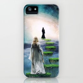 Journey to Happiness iPhone Case