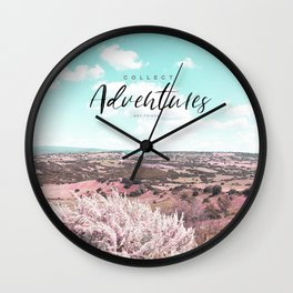 Collect Adventures - Wild Landscape Wall Clock