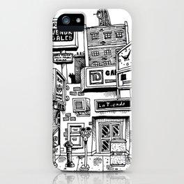 Downtown Brandon Manitoba iPhone Case