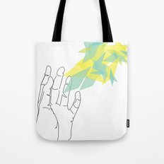 Lines of Your Hand Tote Bag
