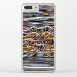 Harley Badge Clear iPhone Case