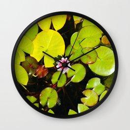 Dreaming Lotus Wall Clock