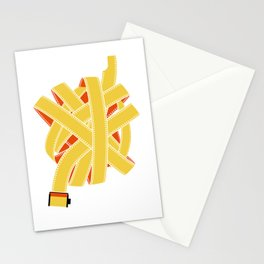 great balls of film Stationery Cards