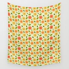 Fresh Floral Wall Tapestry