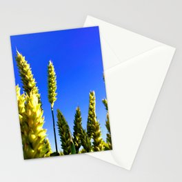 On the field Stationery Cards
