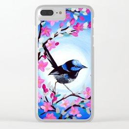 Superb Fairy Wren Clear iPhone Case
