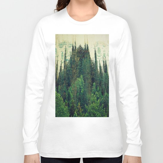 Forest Cathedral Long Sleeve T-shirt