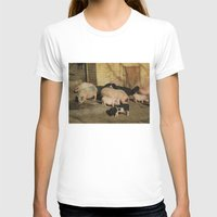 pigs T-shirts featuring Pigs' Party by Vito Fabrizio Brugnola
