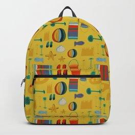 beach gear yellow Backpack