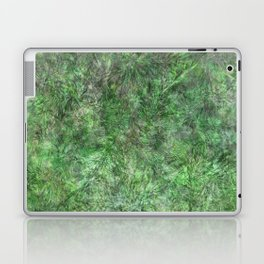 Spring Blossoming - Green Leaves Laptop & iPad Skin