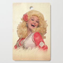 Dolly Parton - Watercolor Cutting Board