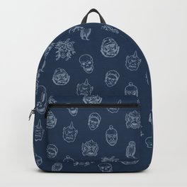 Little Monsters (blue) Backpack