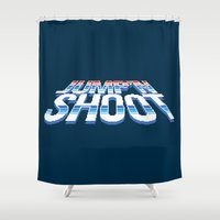 megaman Shower Curtains featuring Jump'n Shoot by thom2maro