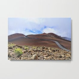 The Road To The Top Metal Print