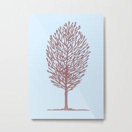 Tree One Metal Print