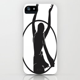 Golden Avatar Black iPhone Case