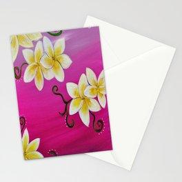 Hawaiian Plumeria 2 Stationery Cards