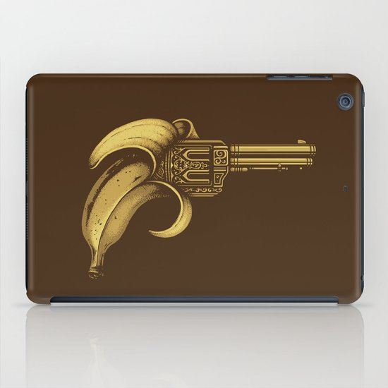 Banana Gun iPad Case