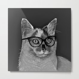 She's A Cool Cat Metal Print