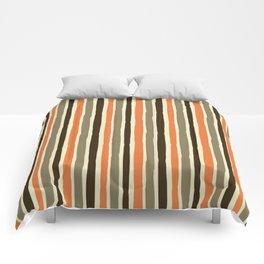 Custom Multicolor Striped Pattern Comforters